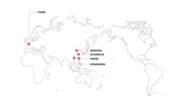 グローバルマップ