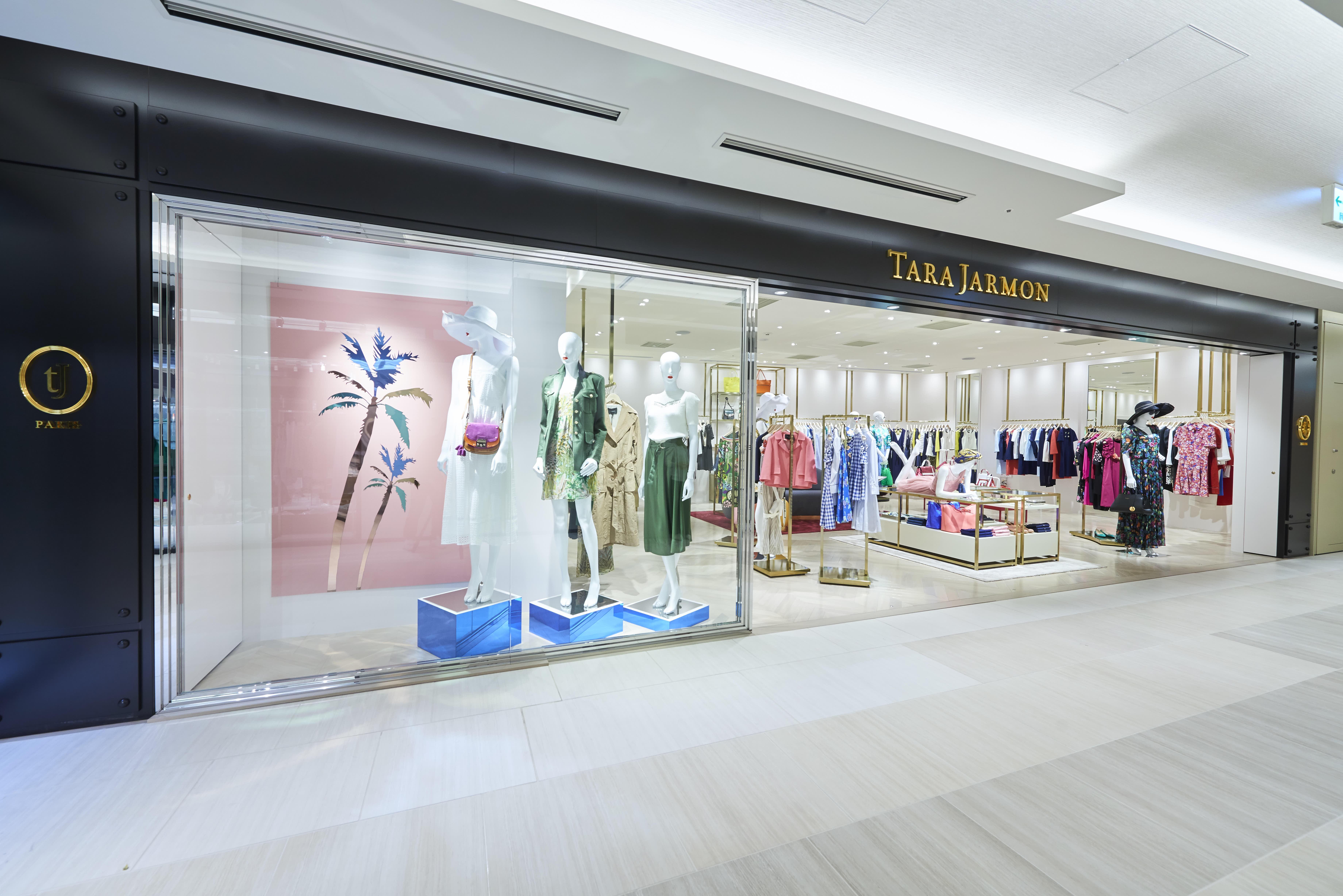 『TARA JARMON 』GINZA SIXにオープン~パリ・シャンゼリゼ店に続く、新コンセプトショップ~
